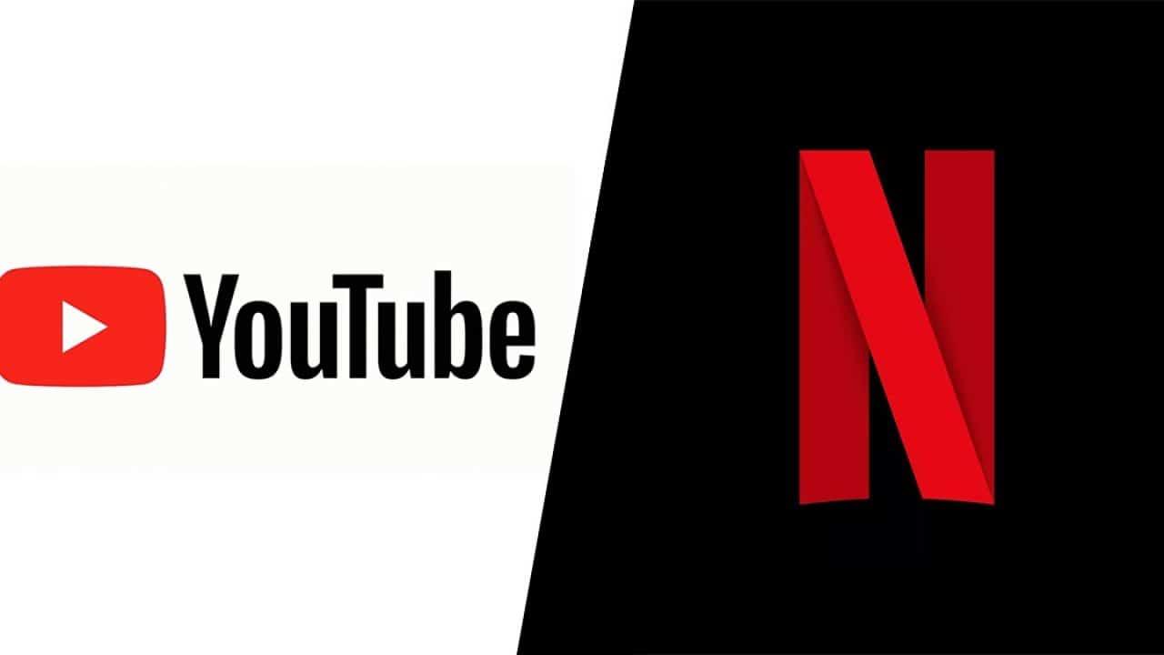 YouTube sta per battere Netflix come piattaforma streaming più grande thumbnail
