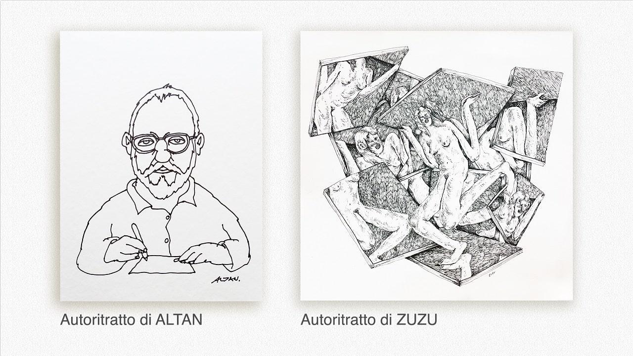 Fumetti nei musei: 52 autoritratti di fumettisti agli Uffizi thumbnail