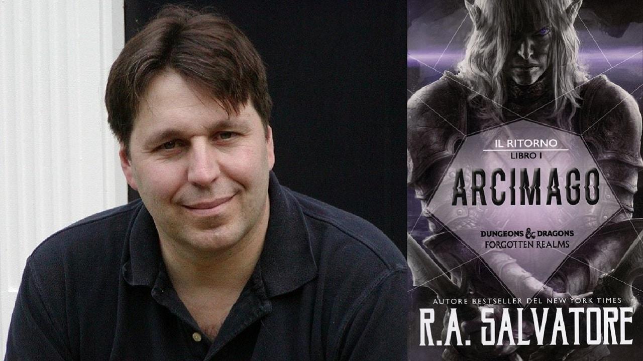 È arrivato in Italia Arcimago, il primo volume della nuova trilogia di R.A. Salvatore thumbnail