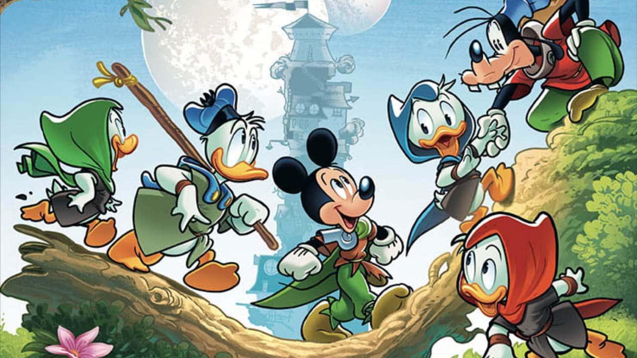 Ducktopia - In arrivo su Topolino la saga fantasy scritta da Licia Troisi e Francesco Artibani thumbnail