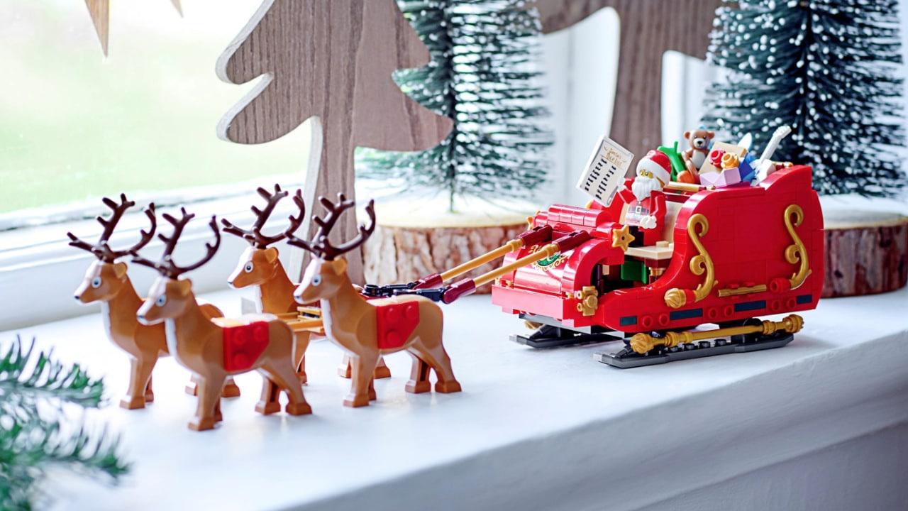 La slitta di Babbo Natale è in arrivo grazie a un nuovo set LEGO thumbnail