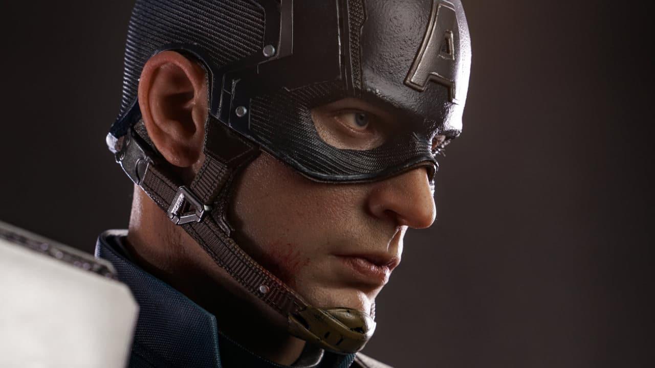Queen Studios Captain America, in arrivo la statua di Steve Rogers thumbnail