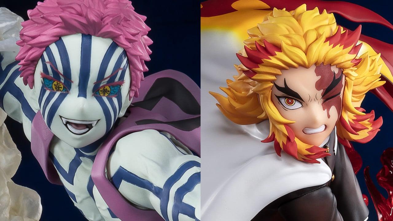 Rengoku e Akaza: in arrivo le statuette da Demon Slayer: Kimetsu no Yaiba thumbnail