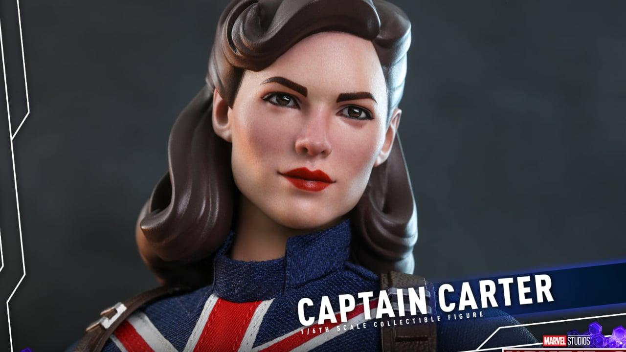 Marvel's What If…: presentata l'action figure Hot Toys di Captain Carter thumbnail