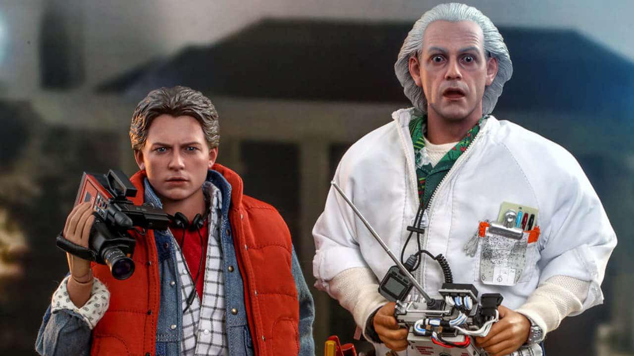 Le action figure di Ritorno al Futuro - In arrivo Marty McFly e Doc Brown da Hot Toys thumbnail