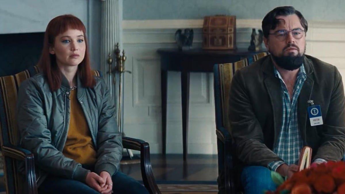 Don't Look Up, ecco il teaser del film con Di Caprio e Jennifer Lawrence thumbnail