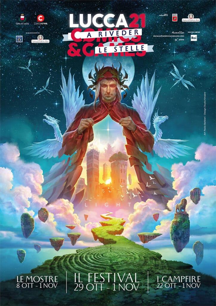 lucca comics games 2021 presentazione