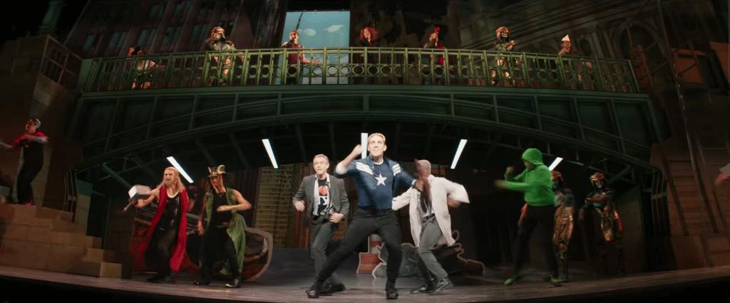 capitan america rogers the musical hawkeye analisi trailer