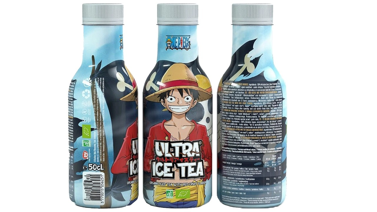 Dissetatevi con le bottiglie Ultra Ice Tea di One Piece thumbnail