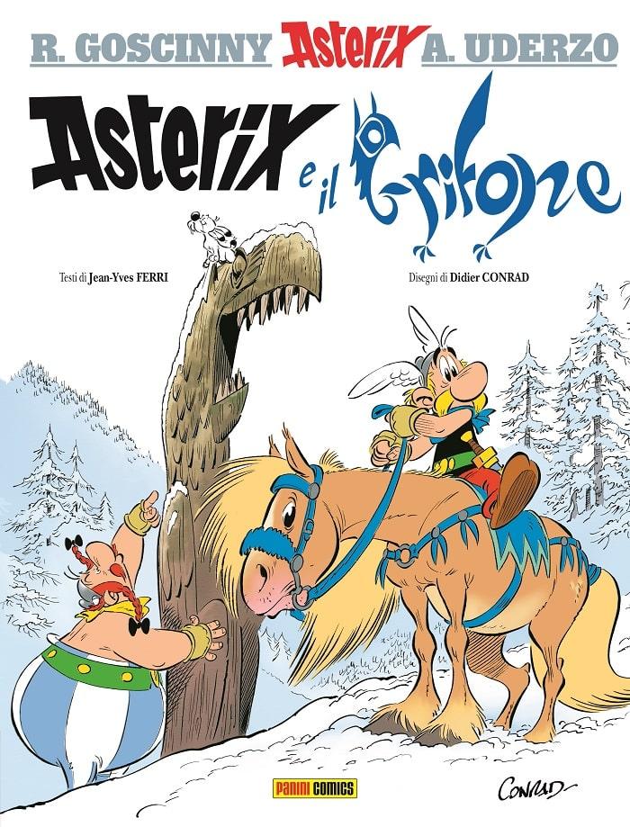 Asterix e il Grifone_copertina cover