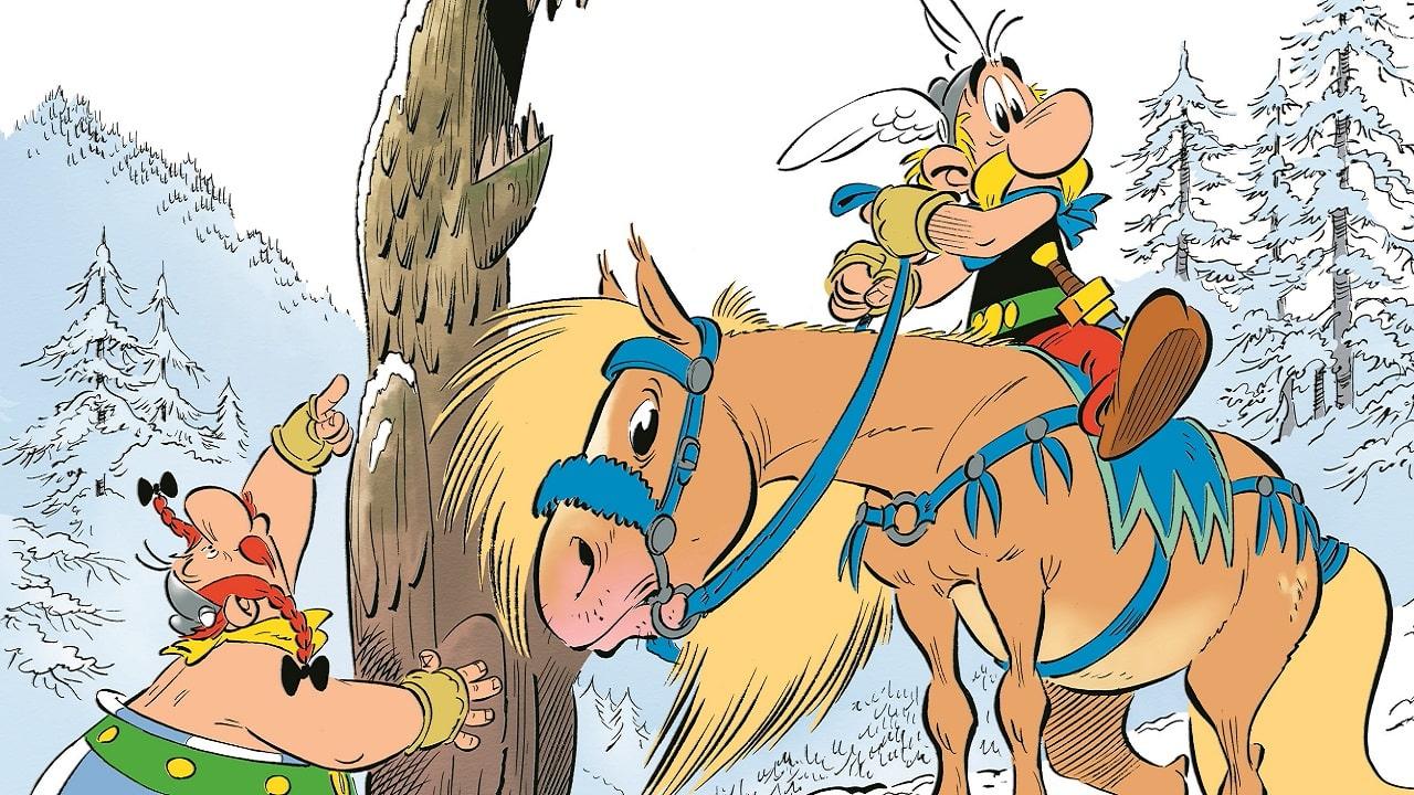 Asterix e il Grifone sta per arrivare: ecco la cover thumbnail