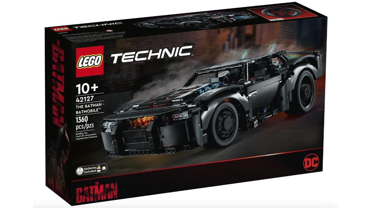Annunciata la Batmobile LEGO del film The Batman thumbnail