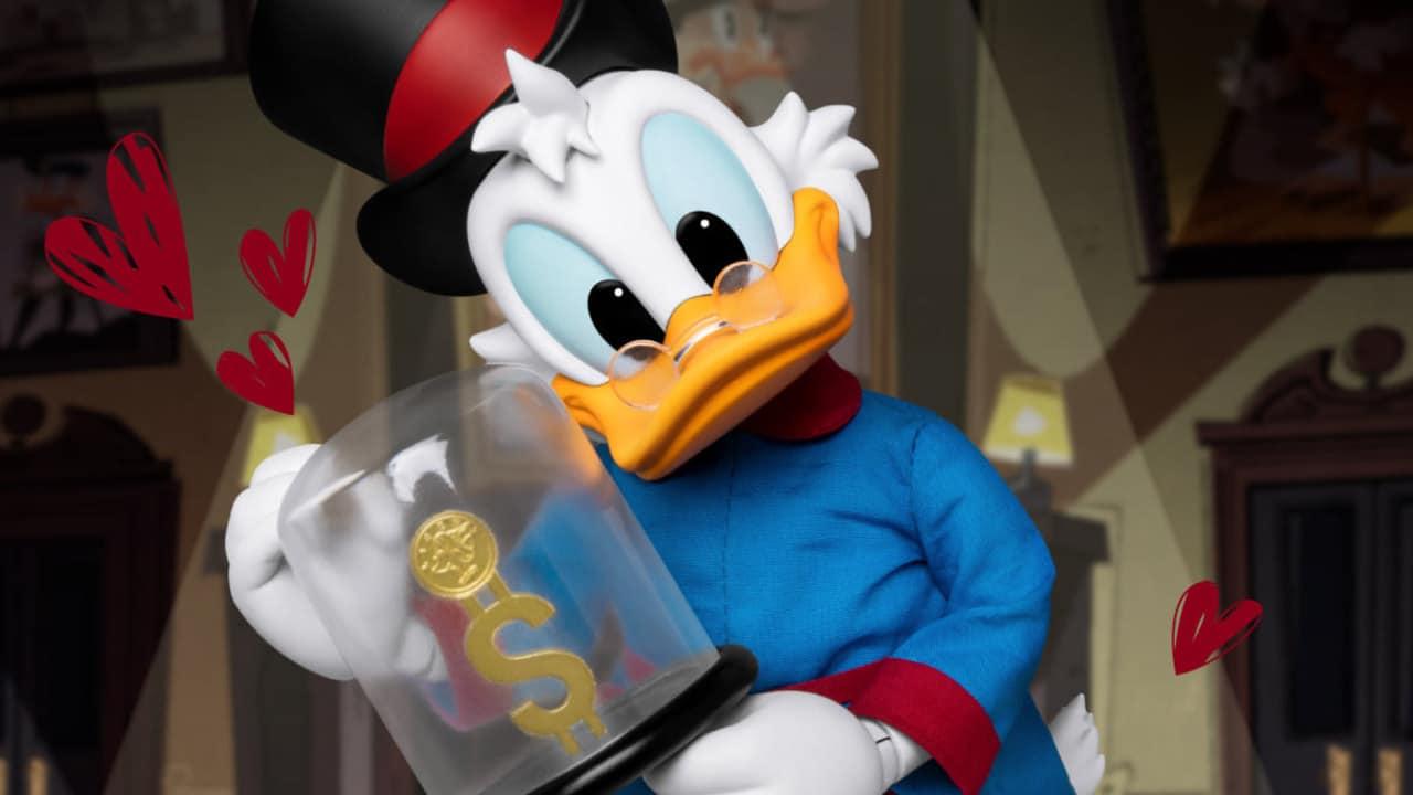 Beast Kingdom Ducktales - Annunciata l'action figure di Zio Paperone thumbnail