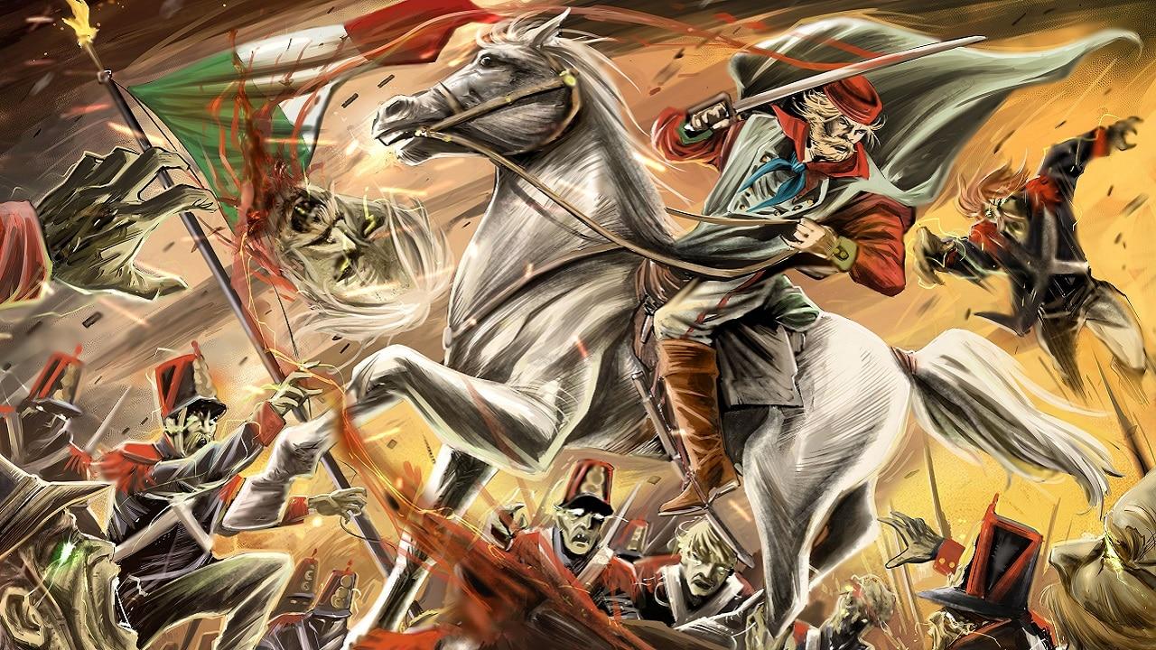 Garibaldi Vs Zombies il nuovo graphic novel di Andrea Guglielmino thumbnail