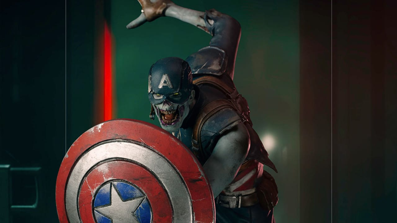 Marvel What If...? - In arrivo la statua Iron Studios di Zombie Captain America thumbnail