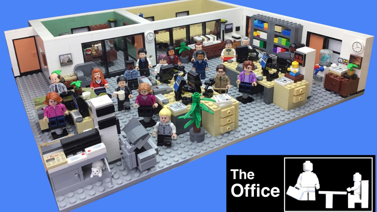 LEGO The Office - Annunciato il set ispirato all'omonima serie Tv thumbnail