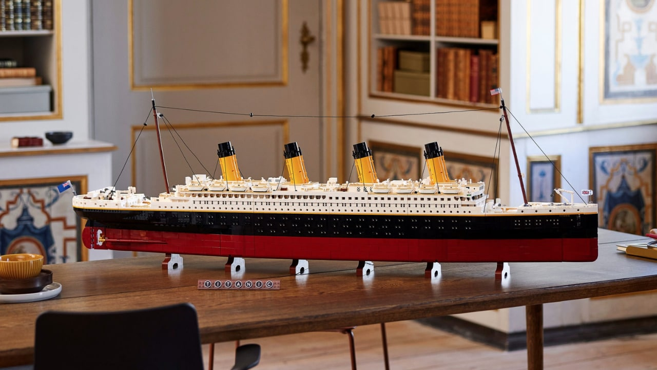 LEGO Titanic, in arrivo il set dell'iconica nave thumbnail