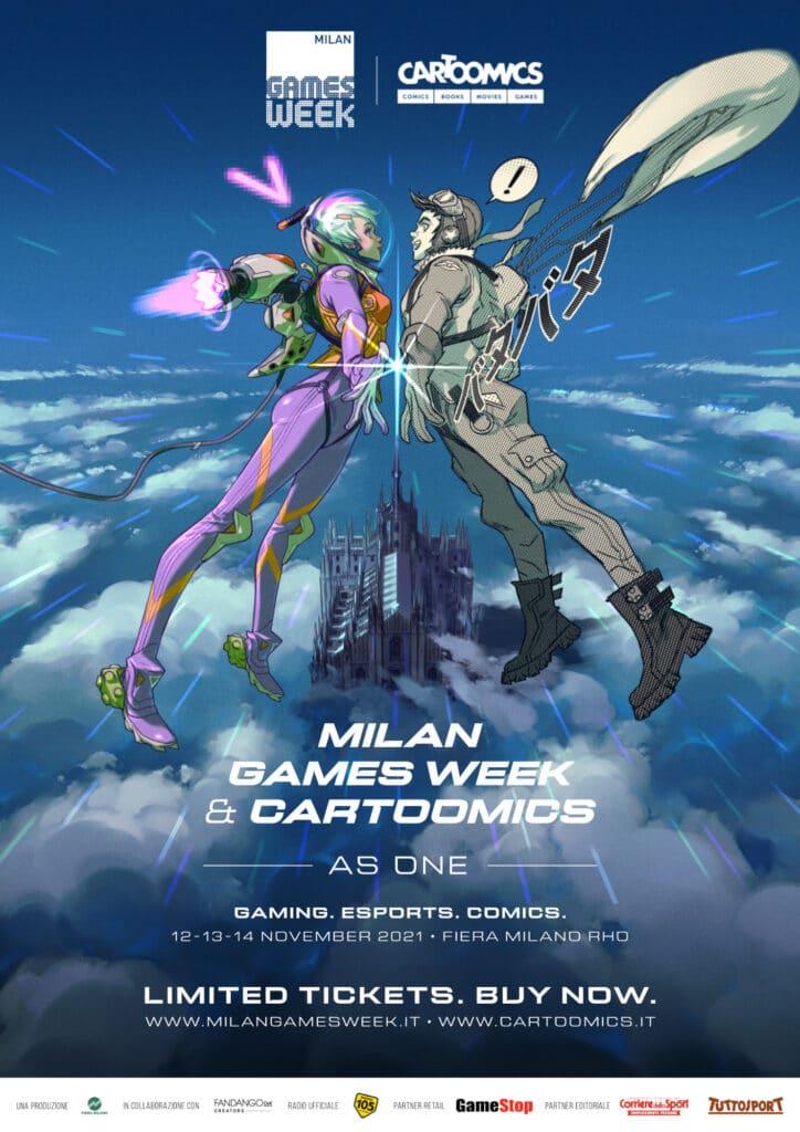 Milan Games Week & Cartoomics As One