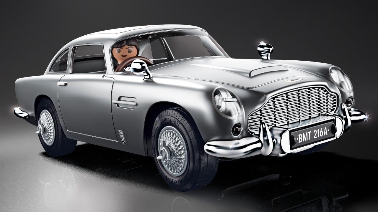 James Bond - Annunciata l'Aston Martin DB5 Playmobil thumbnail