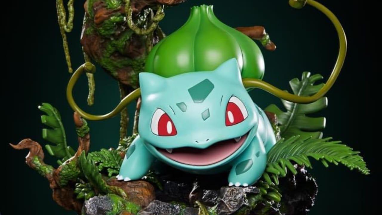 Pokémon Unique Art, annunciata la statua di Bulbasaur thumbnail