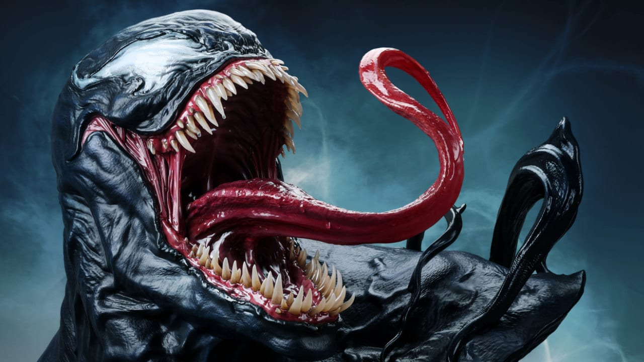 Queen Studios Venom - Annunciato il busto a grandezza naturale thumbnail