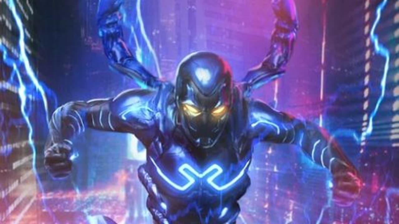 Blue Beetle, la prima concept art del film dal DC FanDome 2021 thumbnail