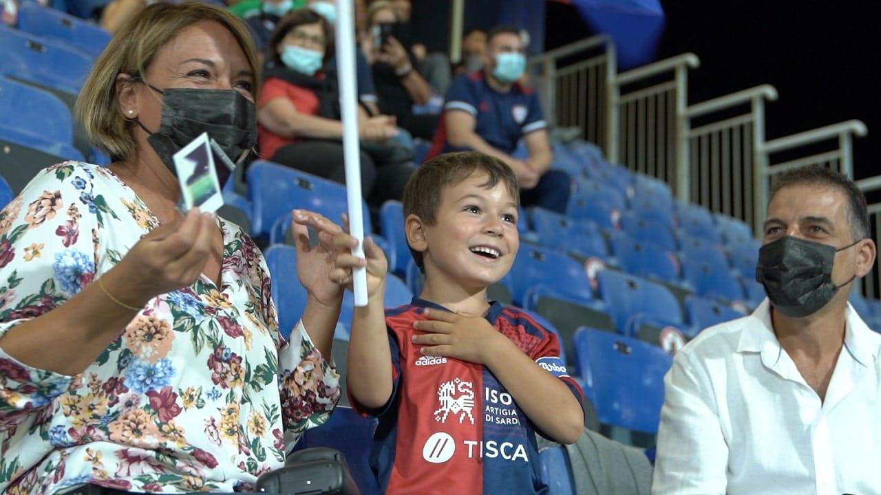 DAZN mostra l'emozione della prima volta allo stadio con Scintille thumbnail