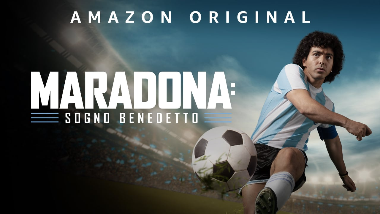 Maradona: Sogno Benedetto, il trailer e il poster della serie TV di Prime Video thumbnail