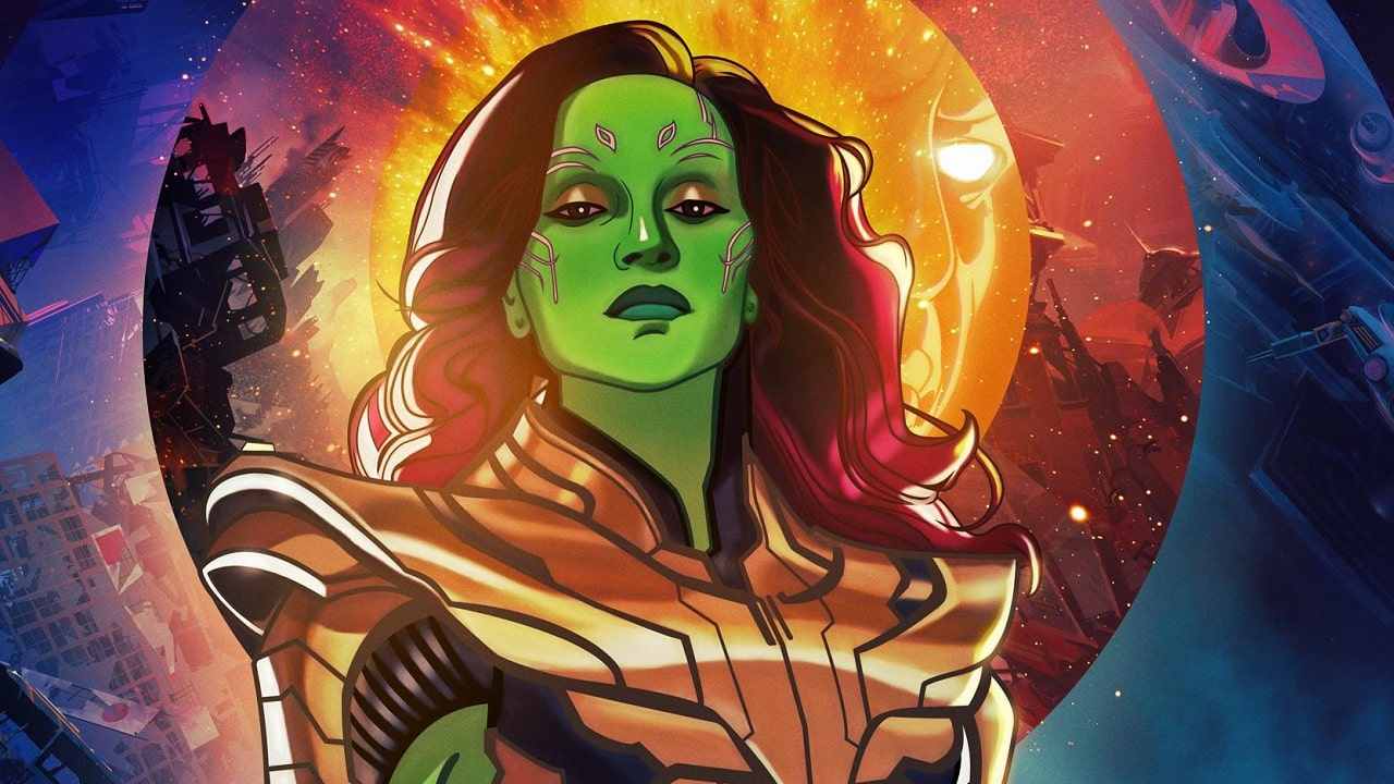 What If...?, il poster per il finale di stagione mette Gamora al centro thumbnail